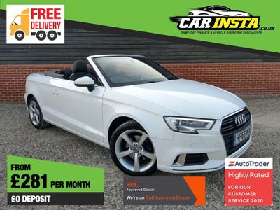 Audi A3 Cabriolet Convertible 1.4 TFSI CoD Sport 2dr