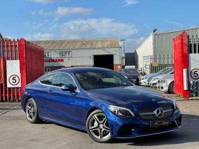 Mercedes-Benz C Class Coupe 1.5 C200 EQ Boost AMG Line (Premium) G-Tronic+ (s/s) 2dr
