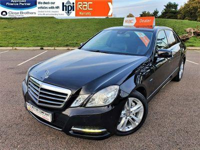 Mercedes-Benz E Class Saloon 2.1 E250 CDI BlueEFFICIENCY Avantgarde G-Tronic 4dr