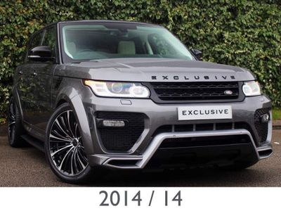 Land Rover Range Rover Sport SUV 3.0 SD V6 HSE - EXCLUSIVE EDITION