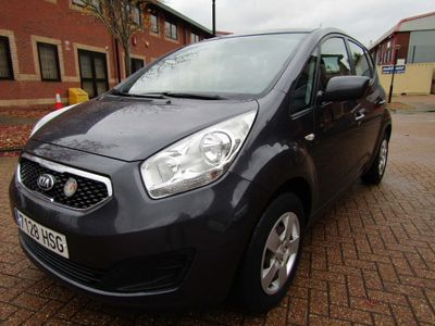 Kia Venga Unlisted 1.4 CVVT 100 BHP PETROL 5 DR MANUAL