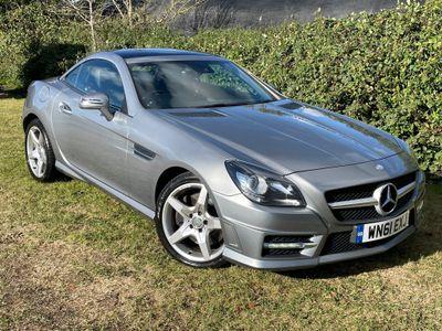 Mercedes-Benz SLK Convertible 3.5 SLK350 BlueEFFICIENCY AMG Sport Edition 125 7G-Tronic Plus 2dr