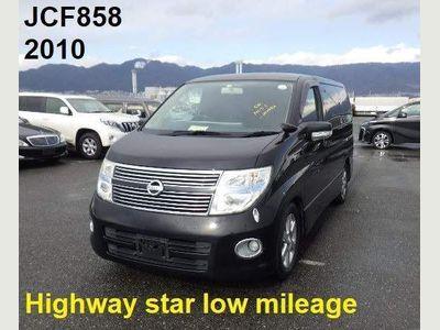 Nissan Elgrand MPV Highway Star Black leather Edition