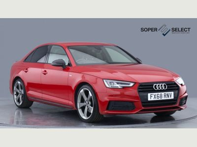 Audi A4 Saloon 1.4 TFSI Black Edition S Tronic (s/s) 4dr