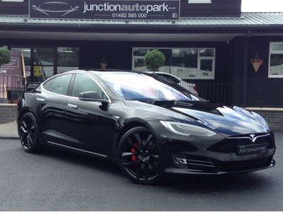 Tesla Model S Saloon P100DL Auto 4WD 5dr (Ludicrous)