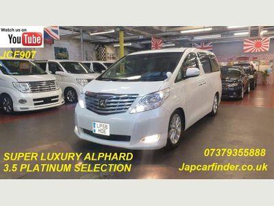Toyota Alphard MPV PREMIUM SEAT BUSINESS SUPPER LUXURY V6