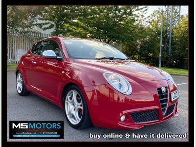Alfa Romeo MiTo Hatchback 1.4 TB MultiAir Distinctive 3dr