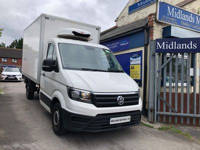 Volkswagen Crafter Chassis Cab 2.0 TDI CR35 BlueMotion Tech Startline FWD MWB EU6 (s/s) 2dr