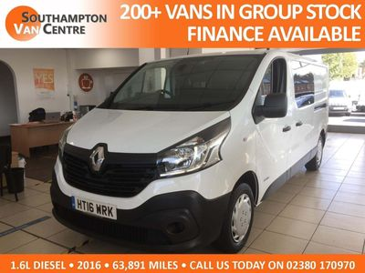 Renault Trafic Panel Van 1.6 dCi 29 Business Crew Van 6dr Diesel Manual (120 ps)
