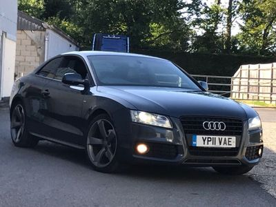 AUDI A5 Coupe 2.0 TDI Black Edition quattro 2dr