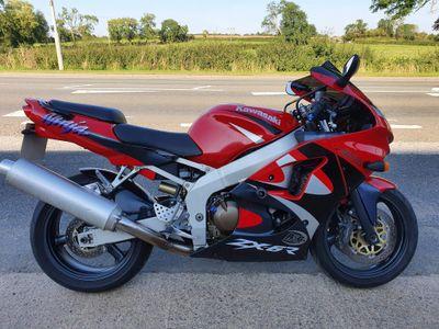 Kawasaki ZX-6R Super Sports 600 G2