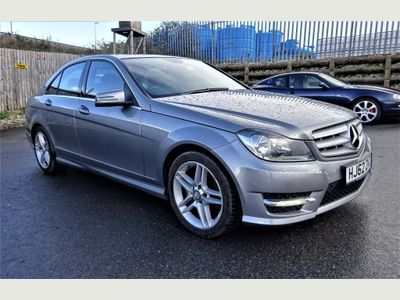 Mercedes-Benz C Class Saloon 1.6 C180 BlueEFFICIENCY AMG Sport 7G-Tronic Plus 4dr