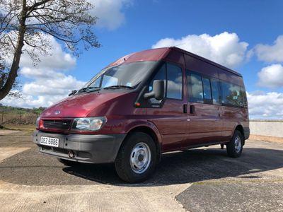 Ford Transit Minibus 2.4 TDCi 350 Duratorq Bus L 4dr (15 Seats, LWB)