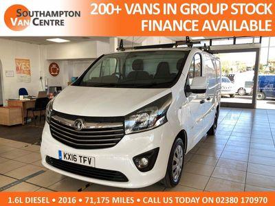 Vauxhall Vivaro Panel Van 1.6 CDTi 2700 Sportive L1 H1 EU5 5dr