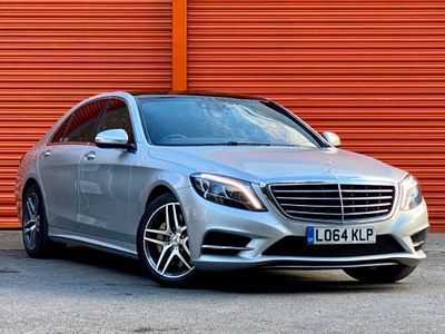 Mercedes-Benz S Class Saloon 3.0 S350L CDI BlueTEC AMG Line (Executive) 7G-Tronic Plus (s/s) 4dr
