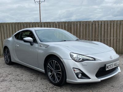 Toyota GT86 Coupe 2.0 D-4S 2dr (leather, nav)