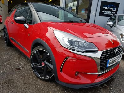 DS AUTOMOBILES DS 3 Hatchback 1.6 THP Performance (s/s) 3dr