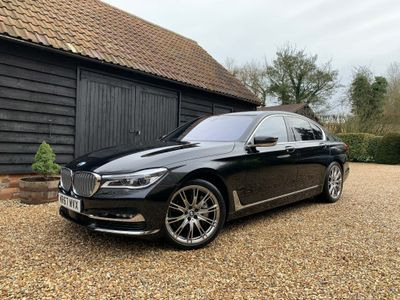 BMW 7 Series Saloon 3.0 730d Exclusive Auto xDrive (s/s) 4dr