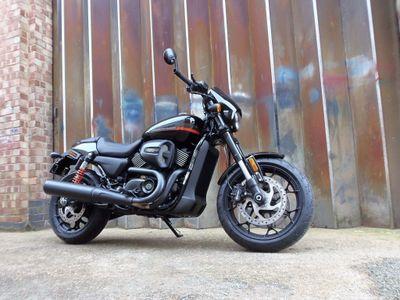 Harley-Davidson Street Rod Custom Cruiser 750