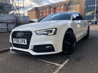 Audi A5 Hatchback 2.0 TDI Black Edition Plus Sportback Multitronic (s/s) 5dr