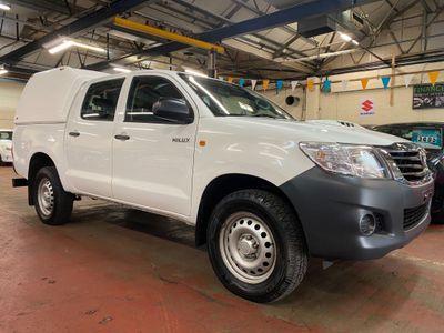 Toyota Hilux Pickup 2.5 D-4D Active Double Cab Pickup 4WD 4dr (VSC)
