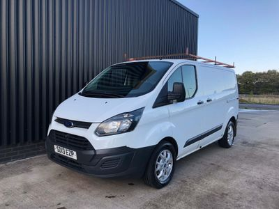 FORD TRANSIT CUSTOM Panel Van 2.2 TDCi 270 L1H1 Panel Van 5dr