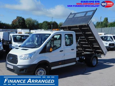 Ford Transit Tipper 2.2TDCI 350 L3 DOUBLE CAB TIPPER