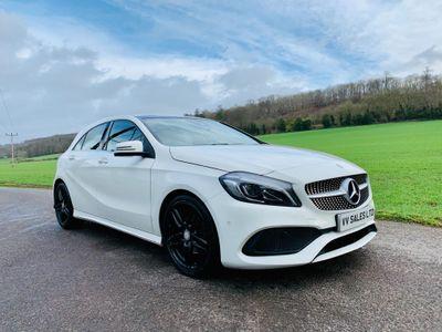 Mercedes-Benz A Class Hatchback 1.6 A180 AMG Line (Premium Plus) 7G-DCT (s/s) 5dr