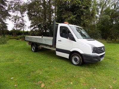 Volkswagen Crafter Dropside 2.0 TDI CR35 Dropside Truck 2dr (MWB)