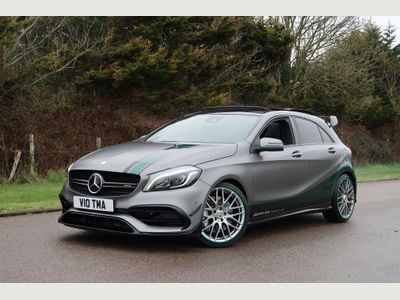Mercedes-Benz A Class Hatchback 2.0 A45 AMG PETRONAS 2015 World Champion Edition SpdS DCT 4MATIC (s/s) 5dr