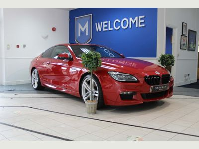 BMW 6 Series Coupe 3.0 640d M Sport Steptronic 2dr