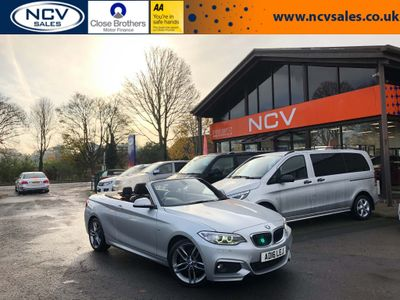 BMW 2 Series Convertible 2.0 220i M Sport (s/s) 2dr