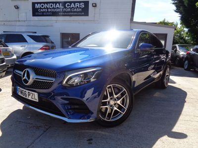 Mercedes-Benz GLC Class Coupe 2.1 GLC220d AMG Line G-Tronic 4MATIC (s/s) 5dr
