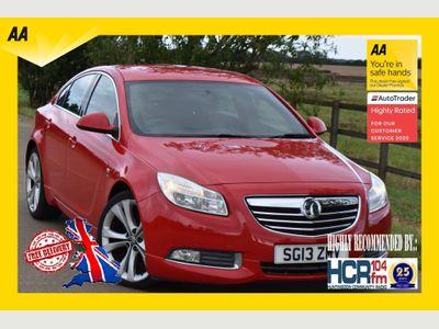 Vauxhall Insignia Hatchback 2.0 CDTi ecoFLEX SRi VX line Red Nav (s/s) 5dr