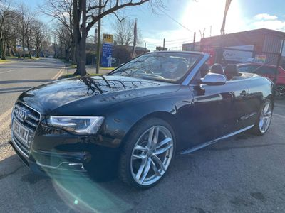 Audi S5 Convertible 3.0 TFSI S Tronic quattro (s/s) 2dr