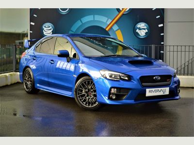 Subaru WRX STI Saloon 2.5T Type UK 4WD 4dr