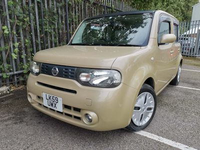 Nissan Cube Hatchback 1.5 AUTOMATIC GLASS ROOF METALLIC BEIGE