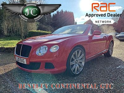 Bentley Continental Convertible 6.0 FlexFuel GTC Auto 6Spd 4WD 2dr