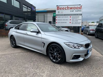 BMW 4 Series Gran Coupe Coupe 2.0 420d M Sport Gran Coupe xDrive (s/s) 5dr