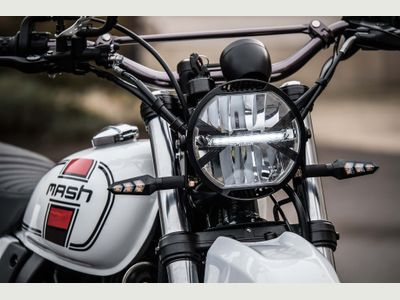 Mash Motorcycles Adventurer Unlisted