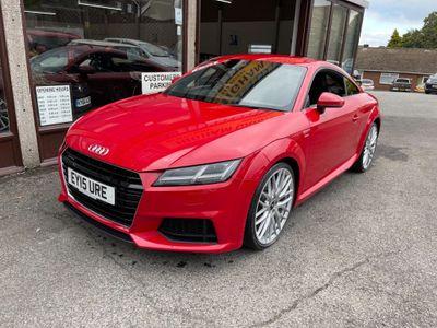 Audi TT Coupe 2.0 TFSI S line S Tronic quattro (s/s) 3dr