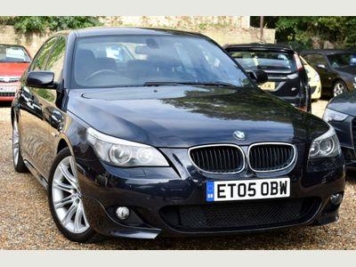 BMW 5 Series Saloon 2.5 525d Sport 4dr