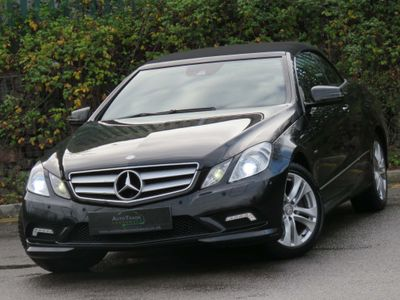 Mercedes-Benz E Class Convertible 2.1 E250 CDI BlueEFFICIENCY Sport Cabriolet 2dr