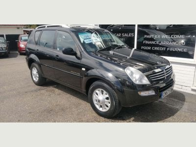 SsangYong Rexton SUV 2.7 TD RX 270 SE 5dr