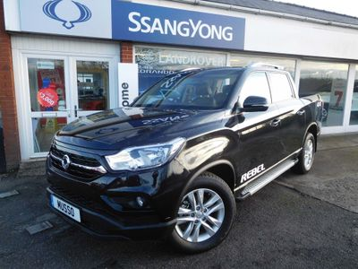 SsangYong Musso Pickup 2.2d Rebel Auto 4WD EU6 4dr