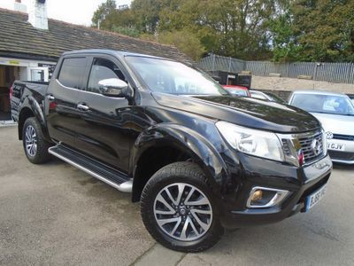 NISSAN NAVARA Pickup 2.3 dCi N-Connecta Double Cab Pickup 4WD 4dr (EU6)