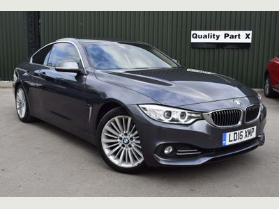BMW 4 Series Coupe 2.0 420i Luxury (s/s) 2dr