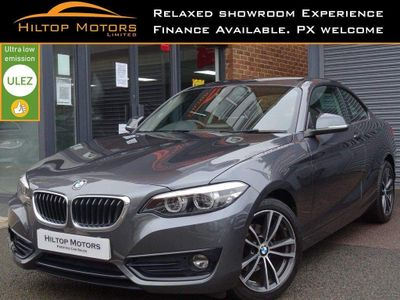 BMW 2 Series Coupe 1.5 218i Sport Auto (s/s) 2dr