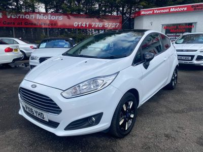 Ford Fiesta Hatchback 1.25 Zetec White Edition 3dr