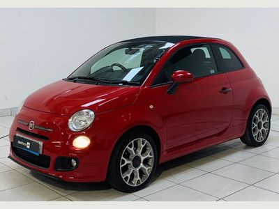 Fiat 500C Convertible 0.9 TwinAir S (s/s) 2dr
